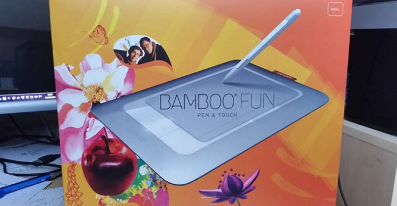 Bamboo Craft Scrapbook Kit & Small White Bamboo Fun Pen Tablet
