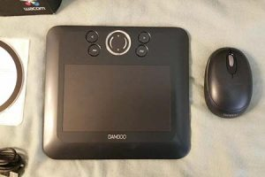 WACOM CTE450K Black Bamboo Fun Tablet with Pen