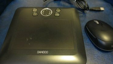 WACOM CTE450K Black Bamboo Fun Tablet with Pen