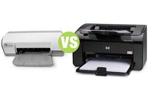LaserJet or Inkjet