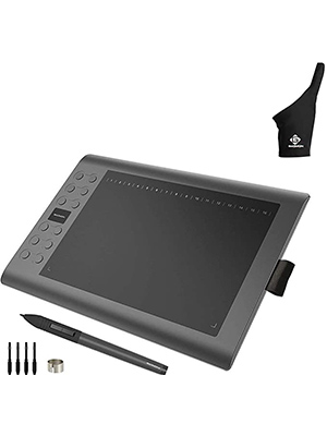GAOMON M106K Graphics Tablet with ONE-finger Glove